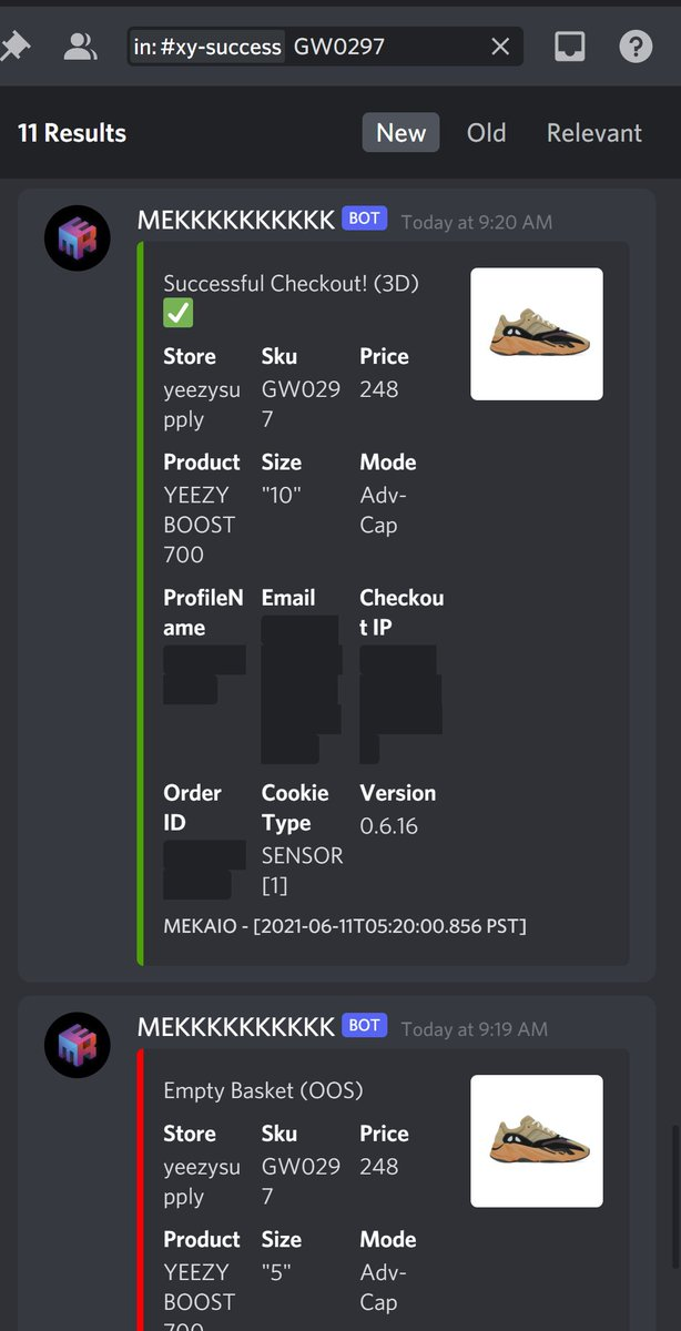 @NotifySquared  MIKE THE GOAT @MEKRobotics Hella declines tho... @VanishedIO Volt Gmails worked really well. @DCMProxies Unbeatable EDU Gmails. Highest splash passing rate😋Love them! @ScarletProxies Edge Resis worked great.  Note, AE86 Resis doesn't work well on YS. https://t.co/9nt0B237qe