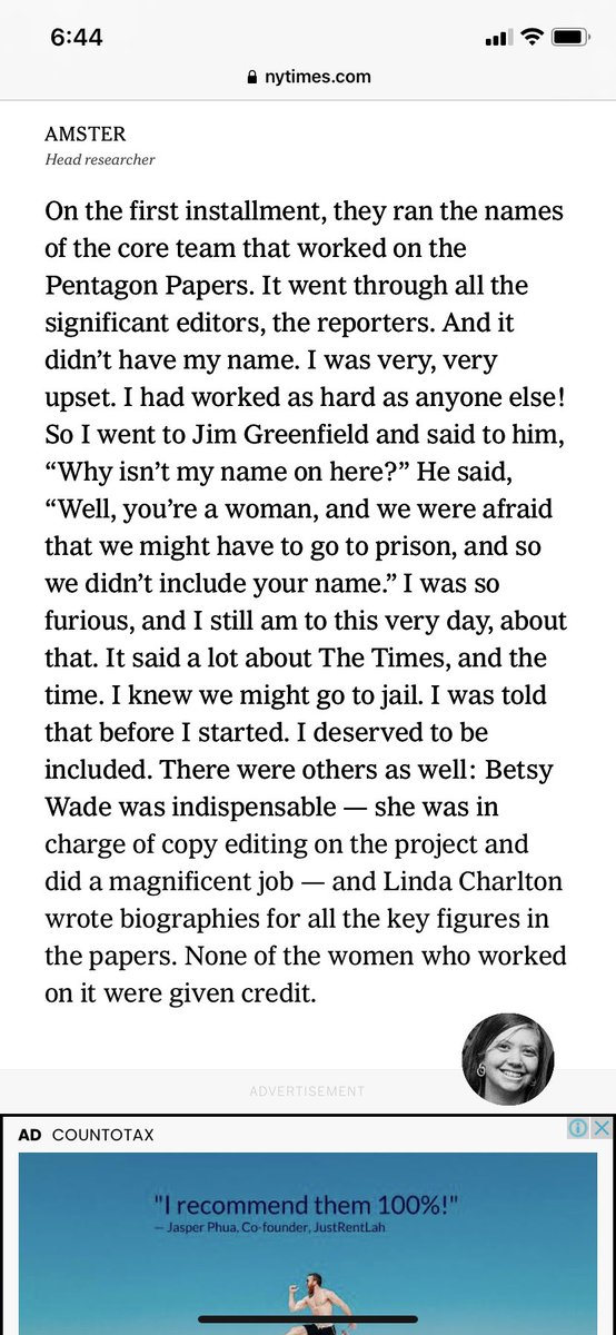 This detail in the oral history of the Pentagon Papers. https://t.co/cQ5FNbKSLw https://t.co/rq8ZKw60rh