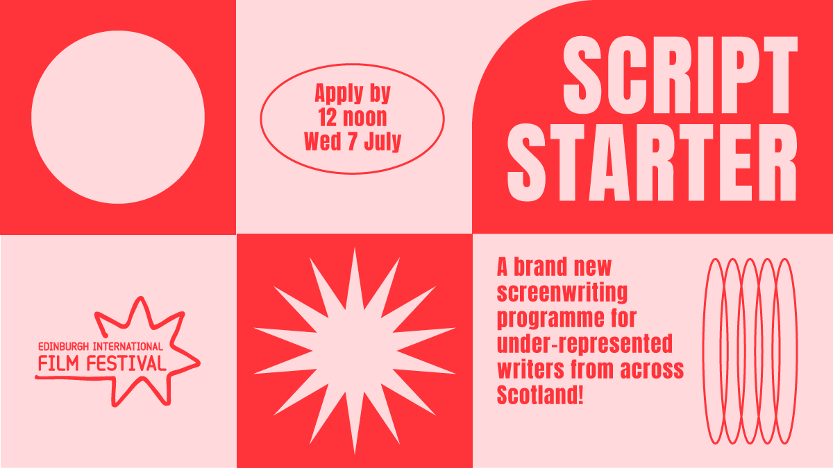 🚨🚨 New opportunity for screenwriters looking to get into film in Scotland. 🚨🚨 https://t.co/gJyWHqhSoE
