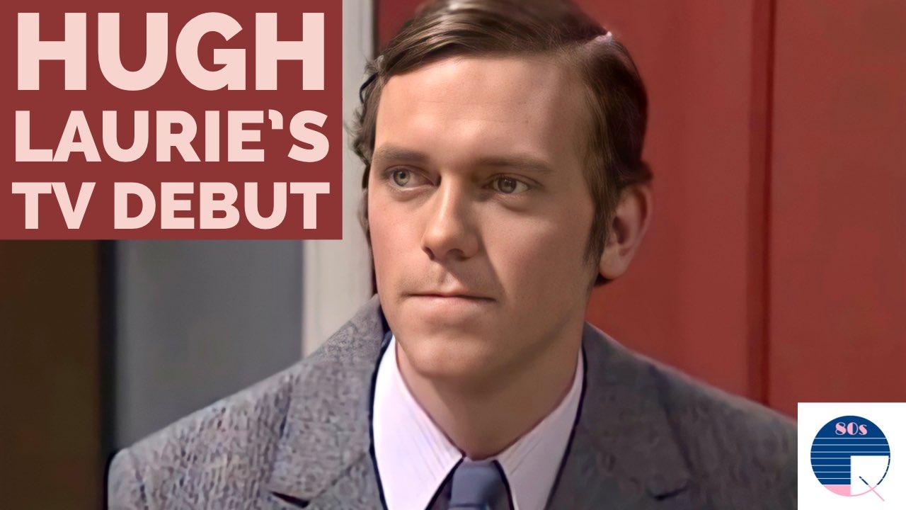 TV Debut    Happy Birthday Hugh Laurie!