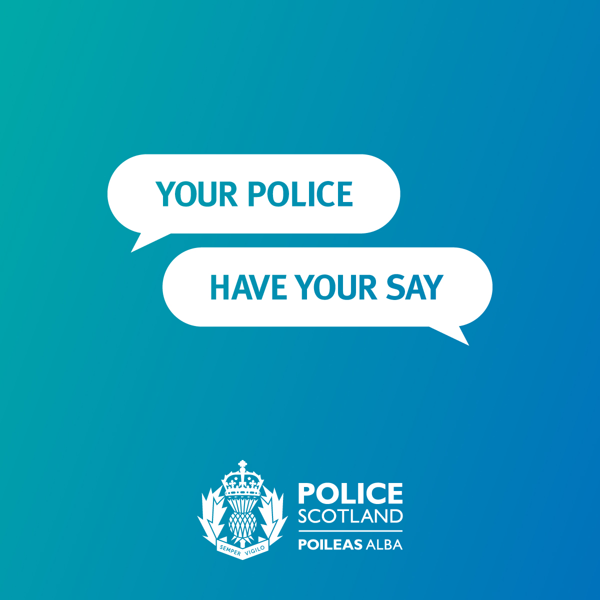We are #YourPolice  Complete our survey & help shape local policing in your area.   👮 Understanding the views & priorities of Scotland's diverse communities is important. What are we getting right & what we can we do better?  ➡️ https://t.co/eOg1ujfBB0 https://t.co/SjD93S8biI