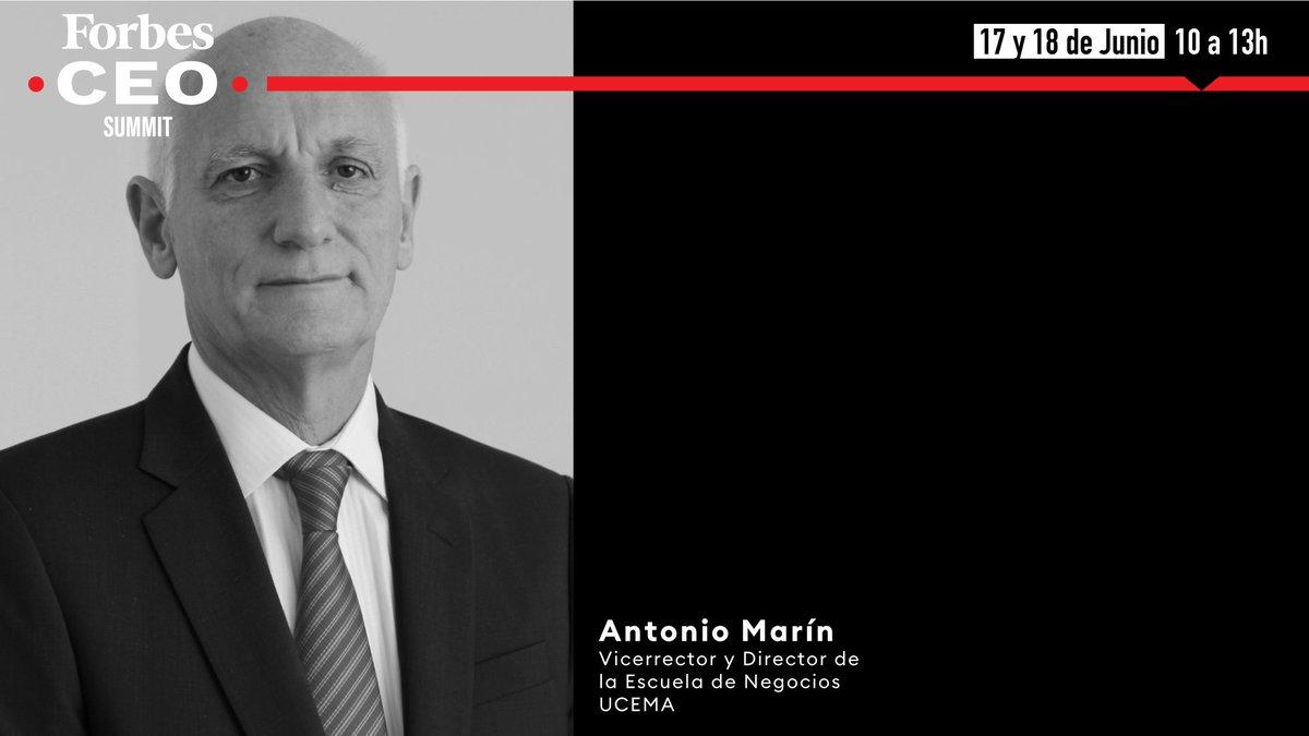 """UCEMA on Twitter: """"?¡Te invitamos a participar de Forbes CEO Summit  presentada por @forbesargentina! El evento contará con la participación de Antonio  Marin, Vicerrector y Director de la Escuela de Negocios de #"""