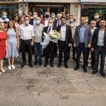 Image for the Tweet beginning: Çalışanlarımızla birlikte umudu büyütüyoruz.  Belediyemizin iştiraklerinden