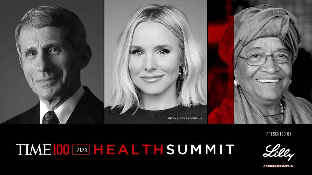 Join us for the TIME100 Health Summit today at 1 pm ET where Dr. Anthony Fauci, @KristenBell, and @MaEllenSirleaf highlight perspectives on health and wellness and encourage collaboration toward a healthier world. Register now: https://t.co/EXmUPM41It https://t.co/NAK1WHLOVL