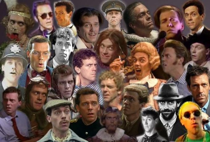 Happy 62nd birthday to  Hugh Laurie - Hurrah!