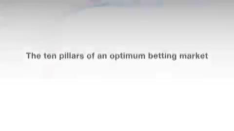Image for the Tweet beginning: The Optimum Betting Market Study