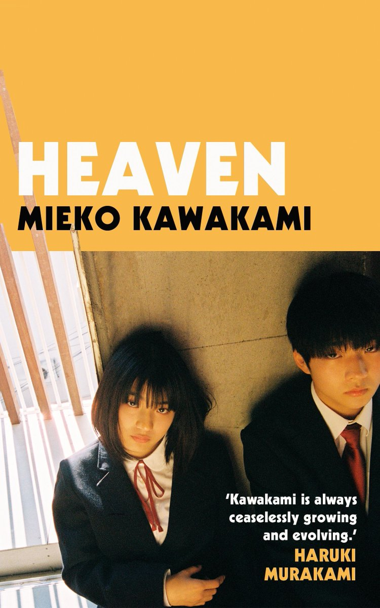 """""""Whenever I saw things happen to her, I got this sharp pain in my chest, but as bad as it hurt there was nothing I could do. I didn't want her knowing that I saw her.""""  Read an extract from HEAVEN by @mieko_kawakami via @lithub.  Out in the UK now!  https://t.co/5hEXVu7APb https://t.co/pJJjZZQYrW"""