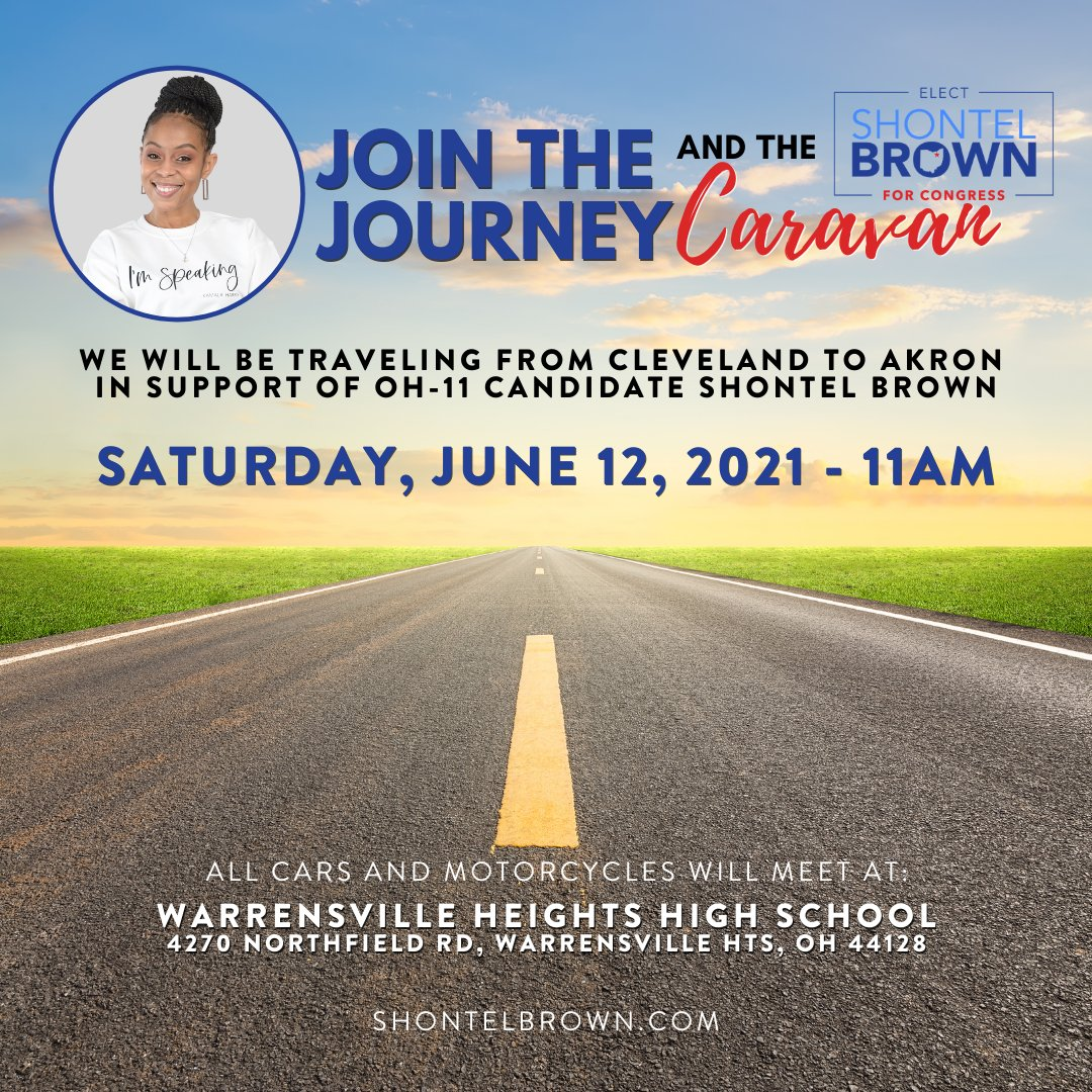 Are you joining us this weekend? We are covering Greater Cleveland and Akron. Come out Sat, Jun 12th at 11AM which will be the start of our caravan. Then we will be journeying to Akron for our rally, which will start at 2PM.  Click the link below to join https://t.co/PIqCSr1yWE https://t.co/zPRtUHbOA5