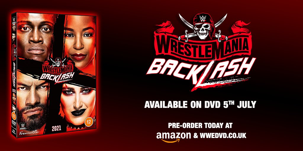 ...The backlash is coming! #WrestlemaniaBacklash arrives 5th July.   Pre-order at https://t.co/pMJJmLe794 & Amazon: https://t.co/AzVFPmDqSj https://t.co/nCvNFWTxTM