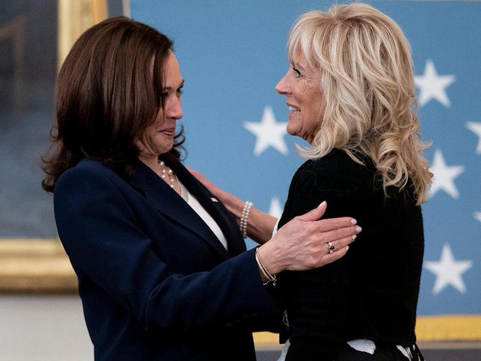 Kamala's Europe quip was a barb meant for Jill