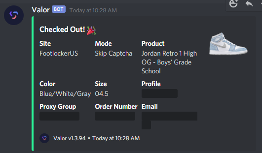 @ValorAIO  @NotifySquared  @mushroomproxy  @MainlyServers   Got some stuff to figure out on my YS setup. Thankfully Valor clutched the morning and hit a Hyper Restock. https://t.co/hPmdHDCLG8