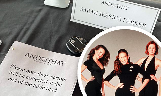 And Just Like That: Sarah Jessica Parker does first table read for her Sex And The City revival Photo