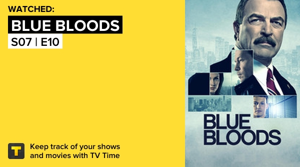 I've Just Watched Episode S07   E10 Of Blue Bloods! #bluebloods  https://t.co/rfdoCP7DBA #tvtime https://t.co/yVztAbvAq1