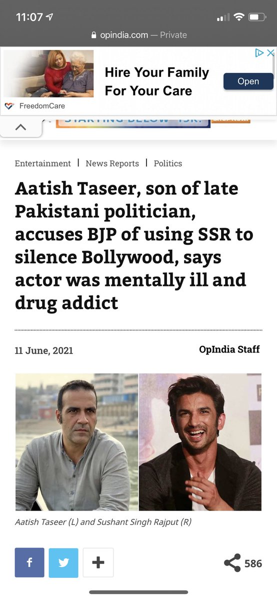 I love that Poop India 💩 is making exactly what in fact happened after SSR's suicide sound as if it's some wild outlandish theory. The reason they can say it as plainly as they can is because it's the truth. https://t.co/29Pbt7Ek7Z