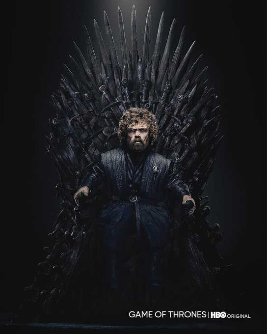 Happy Birthday, Peter Dinklage!  The Iron Throne suits you well.