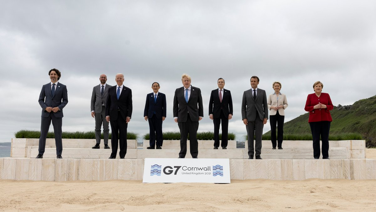 The odd thing about the G7 is that it has eight members and nine attendees. https://t.co/JMmqsRtToj
