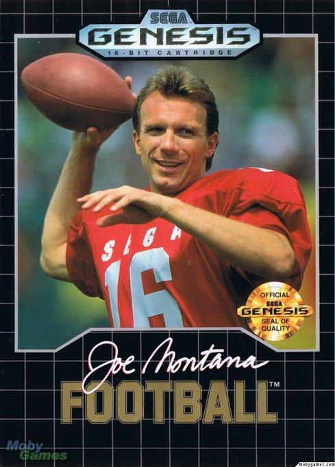 Happy 65th Birthday to The Comeback Kid, Joe Montana. Pay homage.