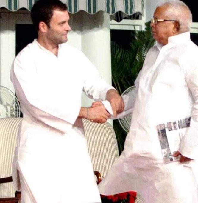 Happy Birthday to Shri.Lalu Prasad Yadav Ji. Former CM of Bihar & Union Railway Minister.