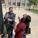 Image for the Tweet beginning: Today Mayor Robert F. Sullivan