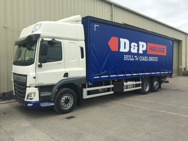 test Twitter Media - 28ft alloy curtain sided vehicle, Dhollandia tail lift, curtains supplied and liveried by Andrew Mitchell and we've painted it in-house using Sikkens paint. Thank you to @DGTaylorComm and D&P Haulage Ltd for your business. #DGTaylor #DandPHaulage #MotusDAF #MartinWilliamsHull https://t.co/nxhBhTe1Wx