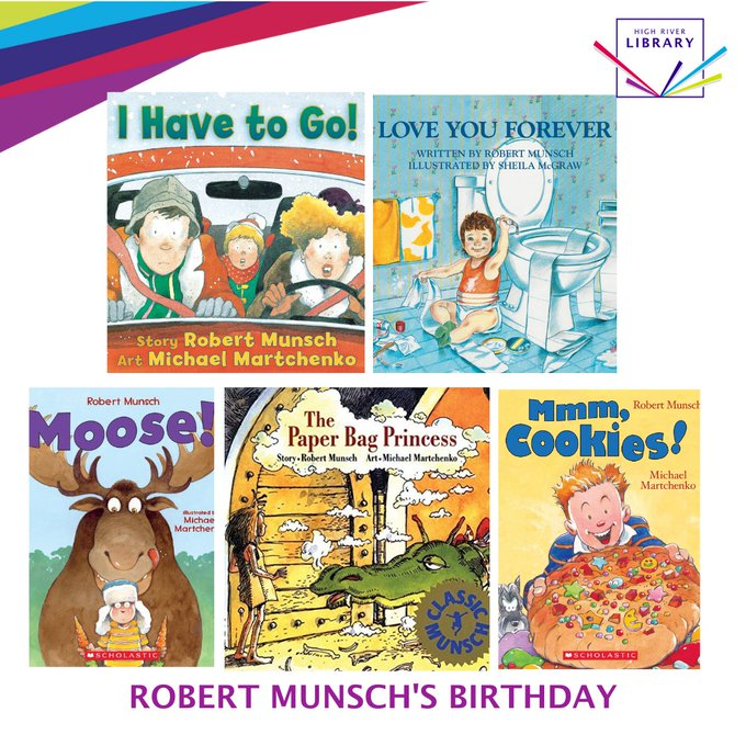Happy Birthday Robert Munsch!  To celebrate, check out some of these classic Munsch tales today!