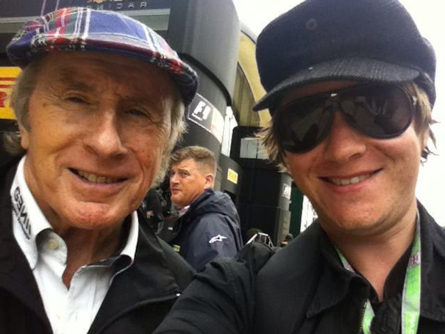 Happy birthday to my hat imitating pal, Sir Jackie Stewart.