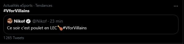 #VforVillains Photo,#VforVillains twitter tendance - top tweets