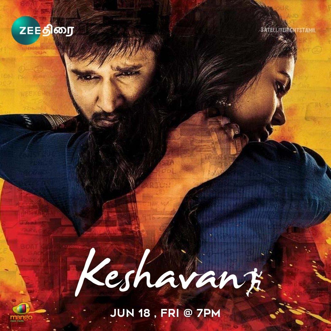 Keshavan (2021) Tamil+Telugu Audio Movie HDRip | GDrive