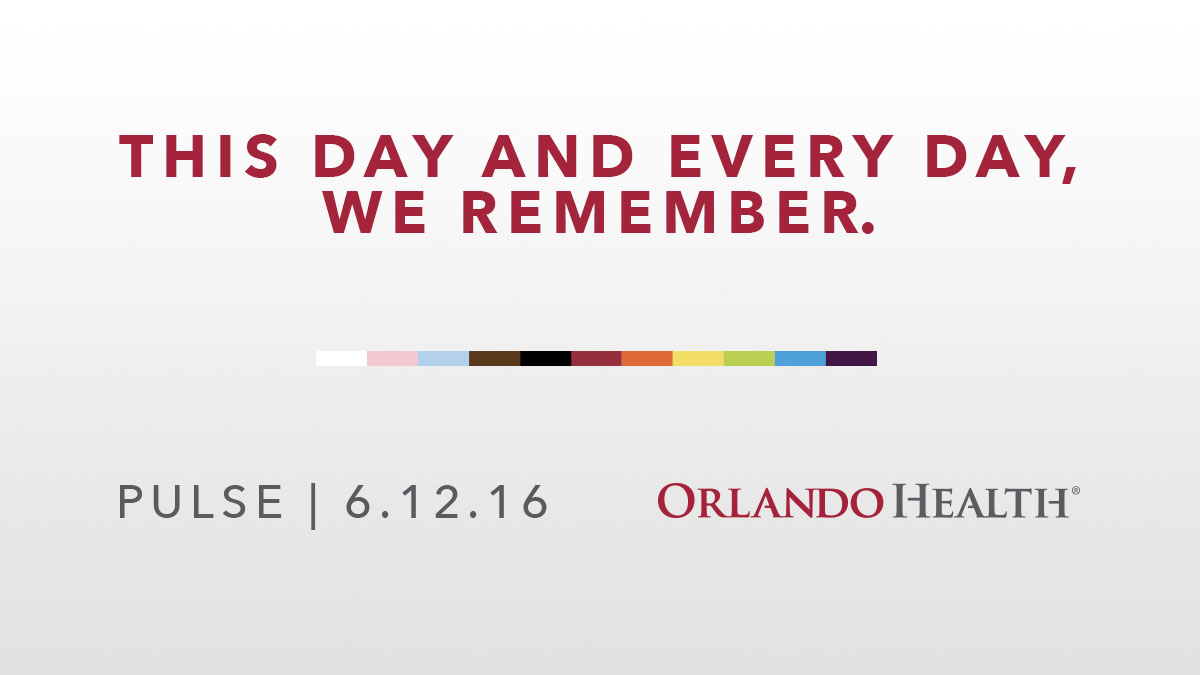 As we observe the five-year anniversary of the Pulse nightclub tragedy of June 12, 2016, we remember the 49 lives that were taken too soon, the families and survivors who continue to heal, and all those who answered the call for help who are forever changed. https://t.co/3yzFG0XSSD