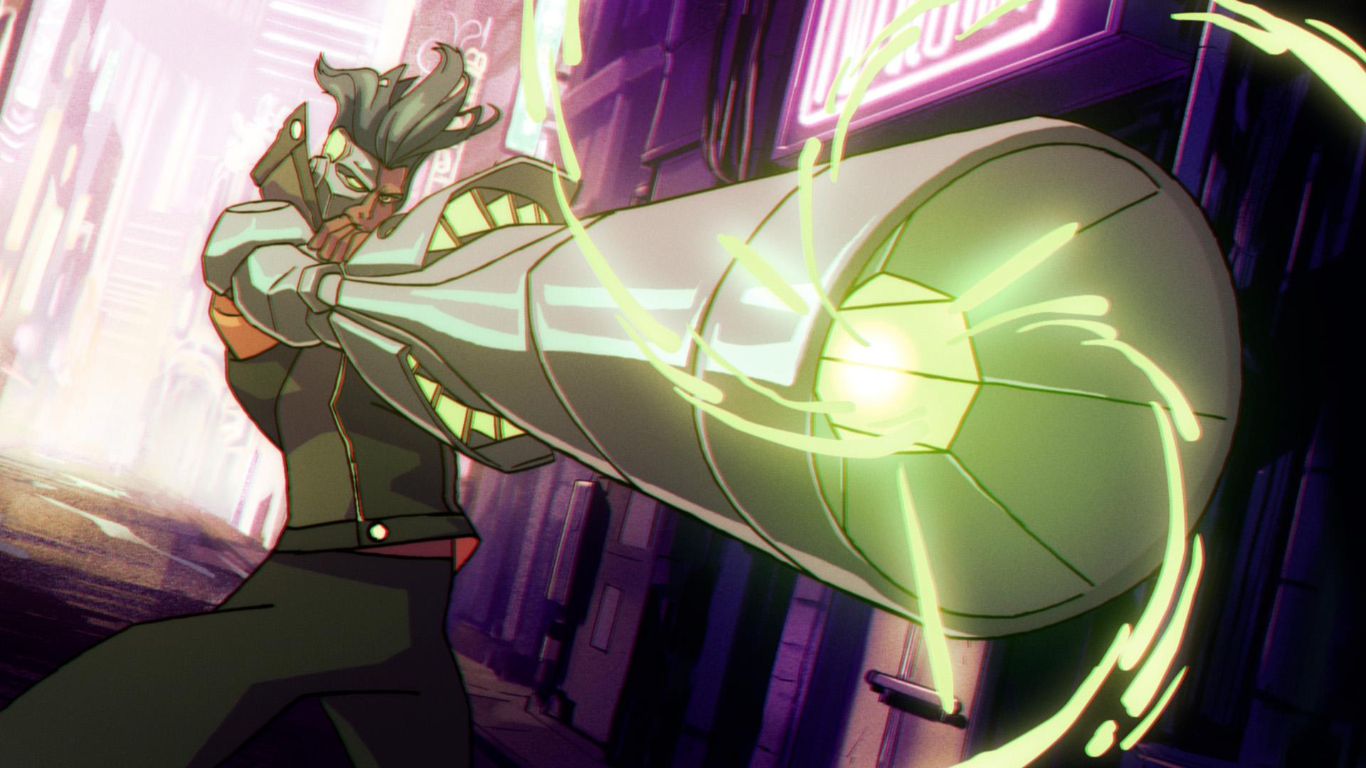 Far cry 3 anime serie Captain Laserhawk netflix