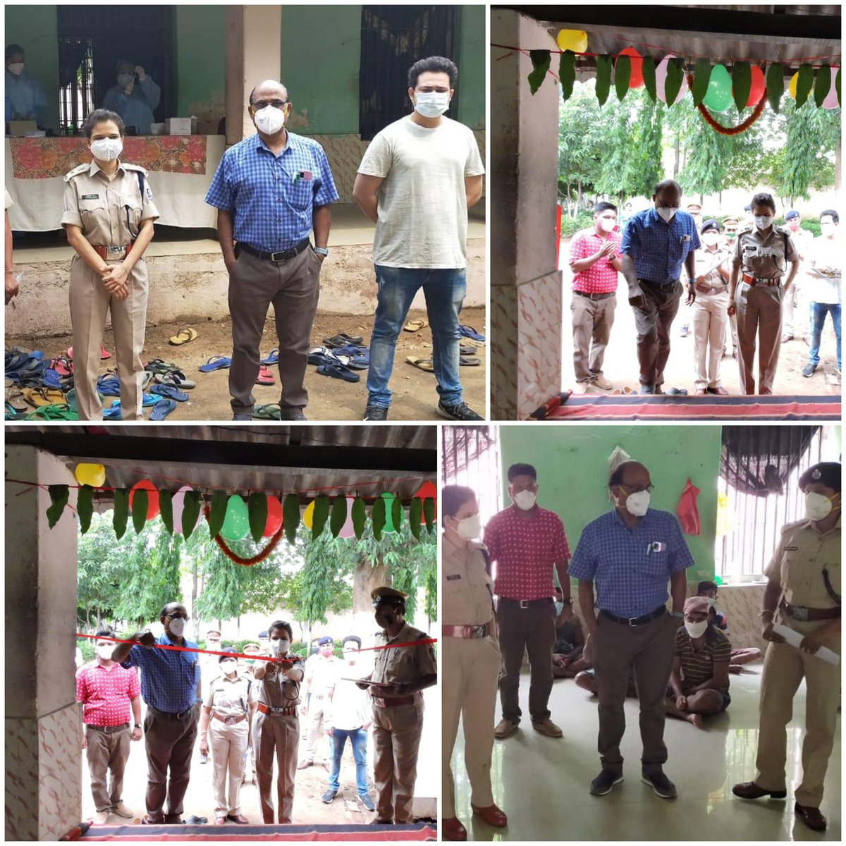 #Vaccination drive for inmates in the age group of 18 to 44 was done in Sundargarh District Jail in the continued effort to beat the #covid pandemic. @DGPOdisha @odisha_police @PMOIndia @CMO_Odisha @MoHFW_INDIA @HFWOdisha @digwrrkl @sagarika_nath @DMSundargarh @CSundargarh https://t.co/MU3JyuKLsL