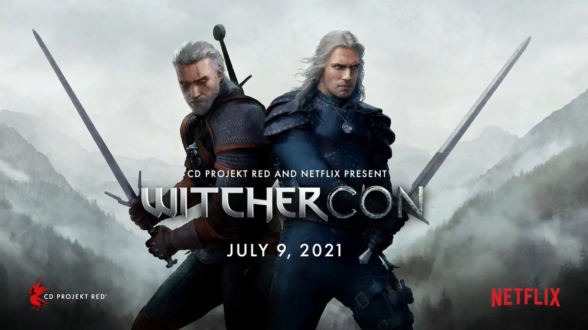RT @Nibellion: CD Projekt Red and Netflix announce Witchercon on July 9 https://t.co/8Zd5O09Kur