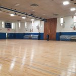 Image for the Tweet beginning: We're also refinishing the gym
