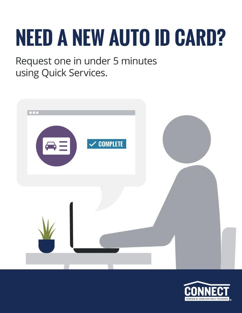 Need a new Auto ID card?