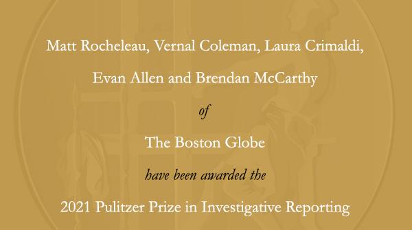 Congrats, @BostonGlobe!