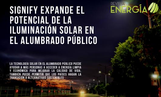 Signify expande el potencial de la iluminación solar en el alumbrado público https://t.co/3ZEFHsiEtB #Santiago #Chile #Signify #Philips #iluminaciónsolar #alumbradopúblico #accesoglobal #electricidad #habitantes #redeléctrica #tecnologíasolar #personas #podertenerluz #energí... https://t.co/CIQHFcwZtN