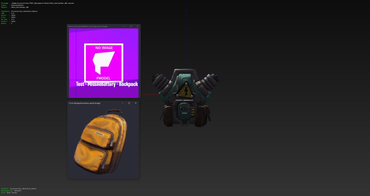 """[Cont.]  - Missile Battery (Left [Has both a normal and """"Homing"""" version])  [""""Test Packs""""] - Air Strike Pack (Top right) - Detect Treasure Pack (Bottom right) https://t.co/vhyyHiwI1D"""
