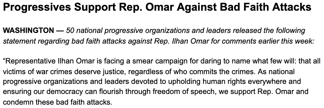 We're with @IlhanMN