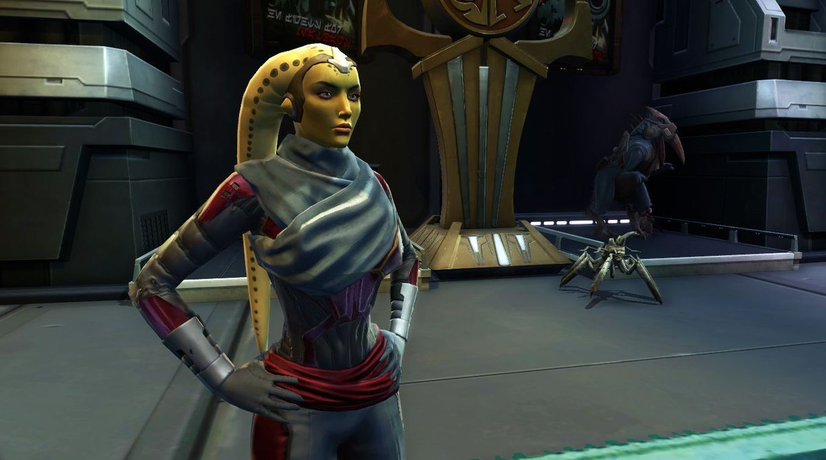 test Twitter Media - Jaleit Nall is a Galactic Seasons vendor who has a rotating inventory. Visit her on the Fleet to exchange Galactic Season Tokens for one of the new Penthouse Strongholds, Mounts, and more! More information here: https://t.co/G3sZhQ96AE. https://t.co/pJexW9O9bH