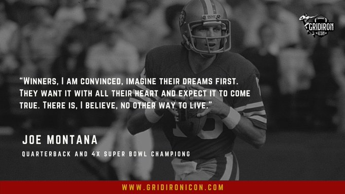 Happy Birthday to the All Time Great, Joe Montana! Icon.