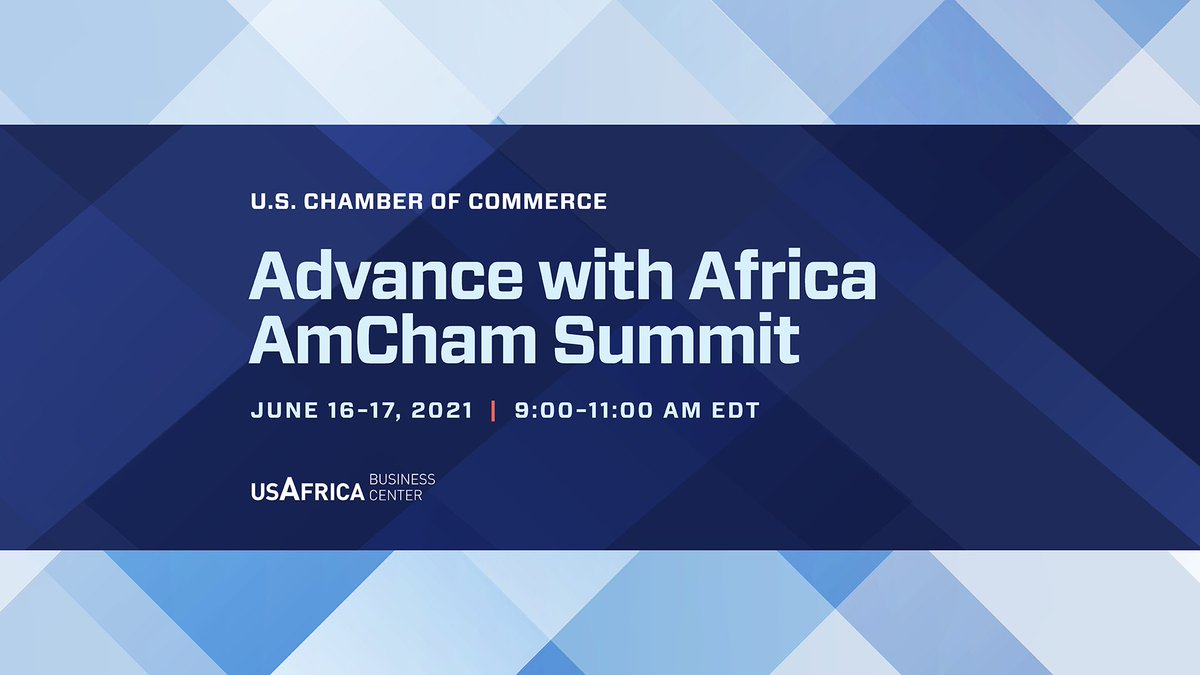 test Twitter Media - The U.S.-Africa Business Center invites you to the June 16 #AdvancewithAfrica AmCham Summit with insights from UNECA Dr Vera Songwe, USTDA Acting Dir Ebong, Commerce Dep Secretary Graves, H.E. President Akufo-Addo of Ghana + more! Register today: https://t.co/Fol3i4d5bz https://t.co/xRTciJpNIW