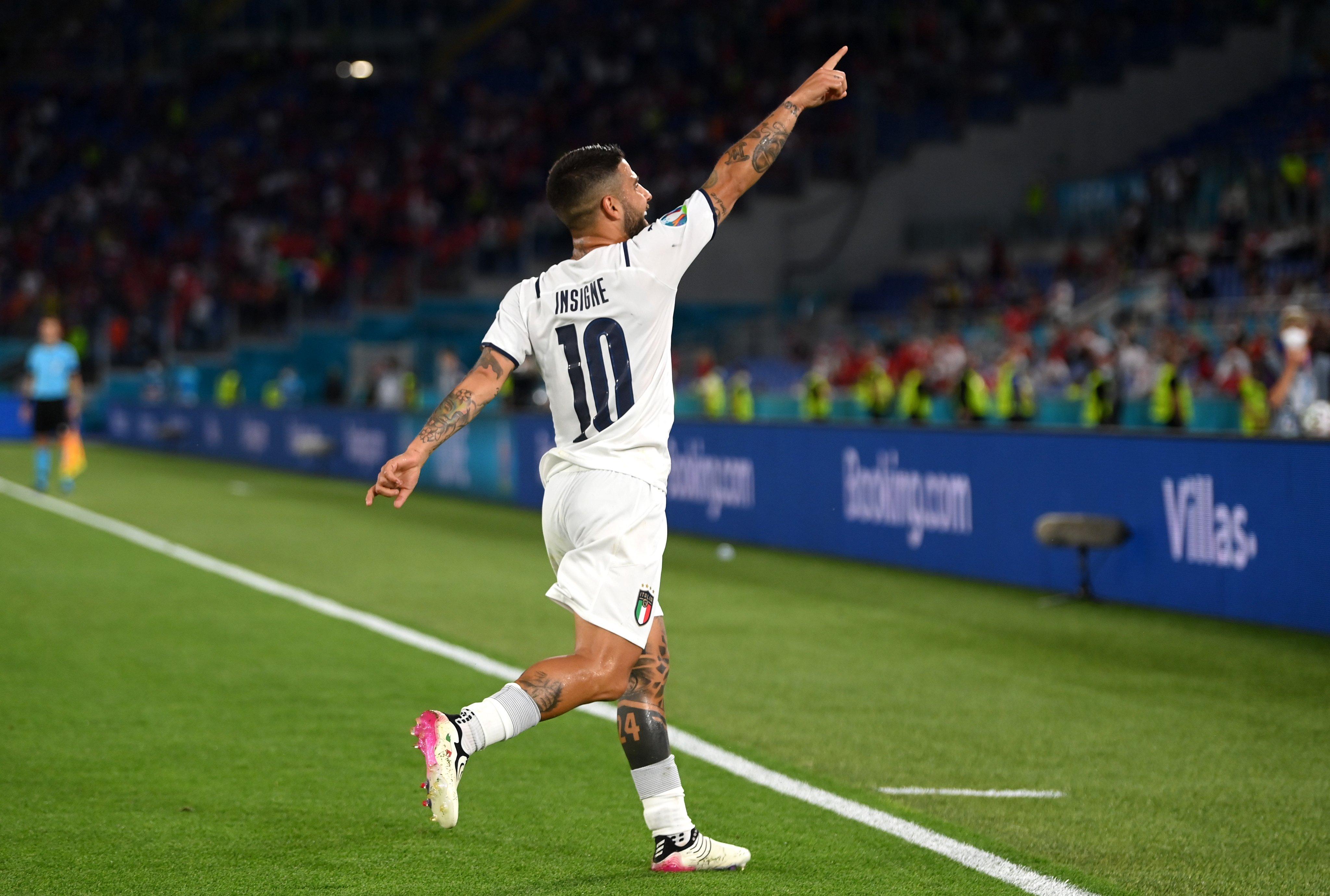Lorenzo Insigne na Euro 2020