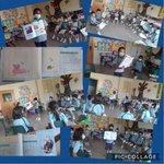 Image for the Tweet beginning: Los alumnos de 1º EP