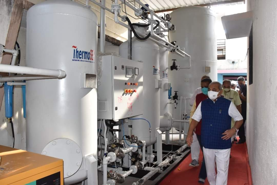 Oxygen plant, DG set inaugurated at public hospital in Mansa