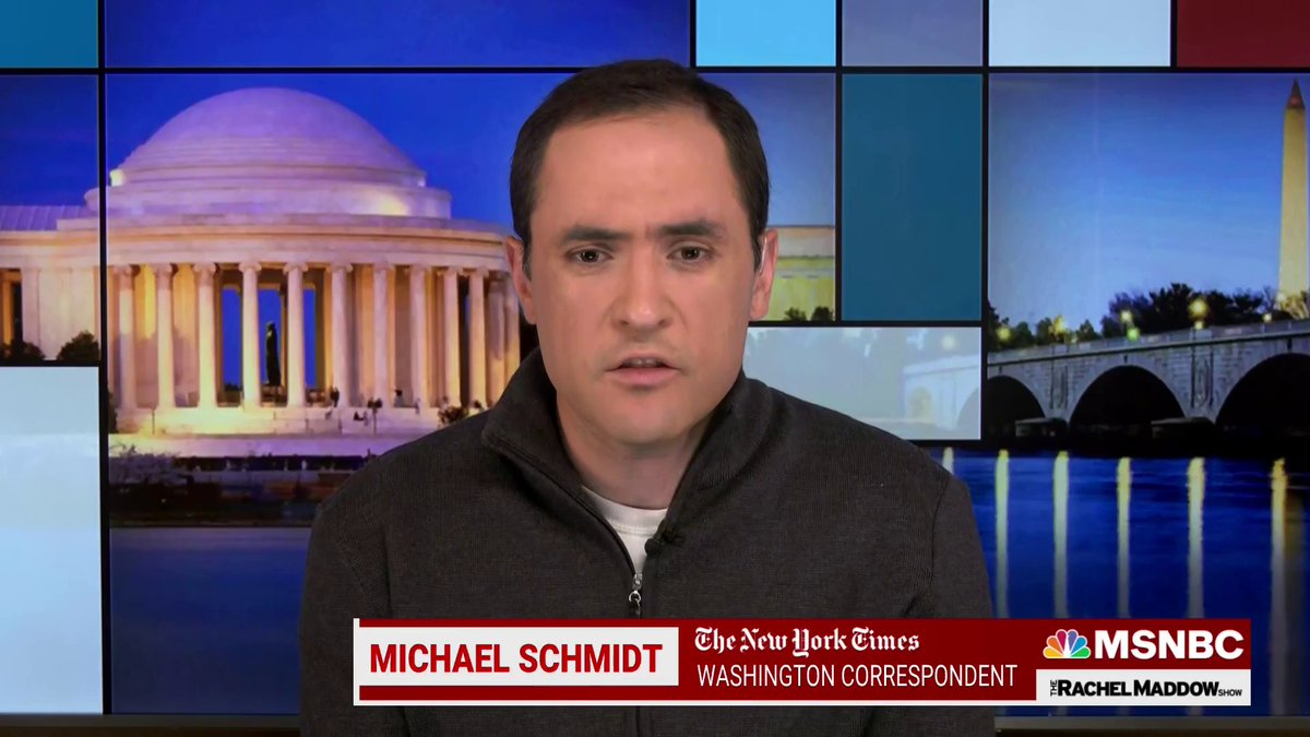 """""""This is something that was going on close to almost the six-month mark of Biden being in office. [...] Why is it that the fight continued under Merrick Garland for the metadata from my emails?""""  - @nytmike https://t.co/Qbuzz4WMTj"""