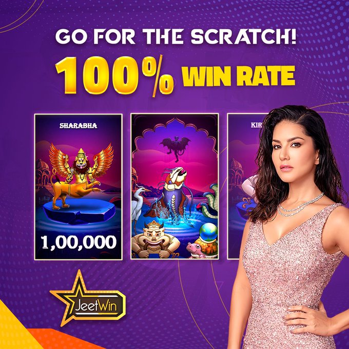 Make this Weekend a great one with a mythical creature-themed scratch game available only on @JeetWinOfficial
