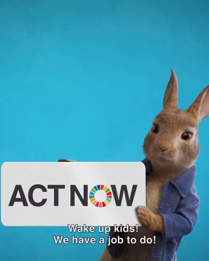Peter Rabbit is doing his part to protect our planet & he is asking YOU to become a food hero like him.  From buying local & seasonal fruits & vegetables to wasting less food, all of us can take #ClimateAction: https://t.co/X0Shwfcd3n #PeterRabbitFoodHero https://t.co/rtflSRXEqw