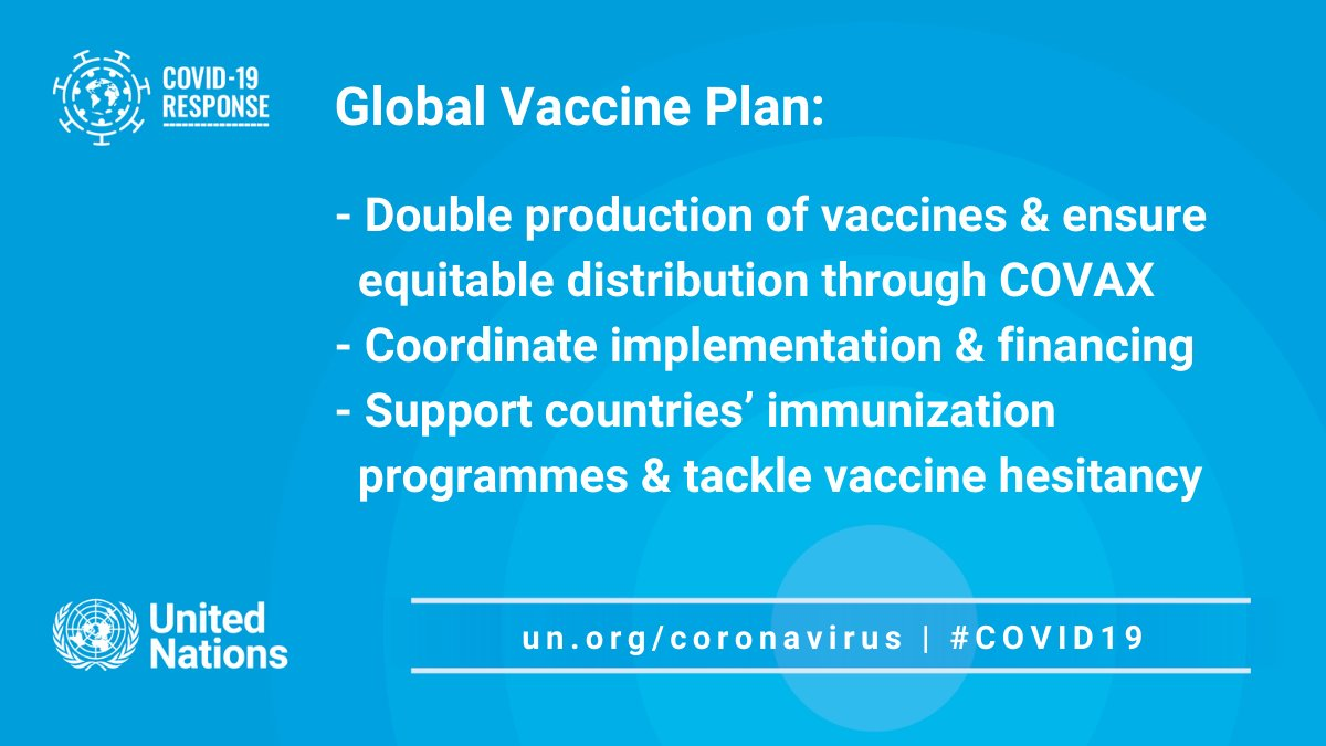 I welcome the #G7 commitment to share the vaccine. The response needed to end this pandemic will require the largest global public health effort in history.  The world needs a Global Vaccine Plan.  G7 leadership is crucial. #G7UK https://t.co/YsbqtD9Pwf