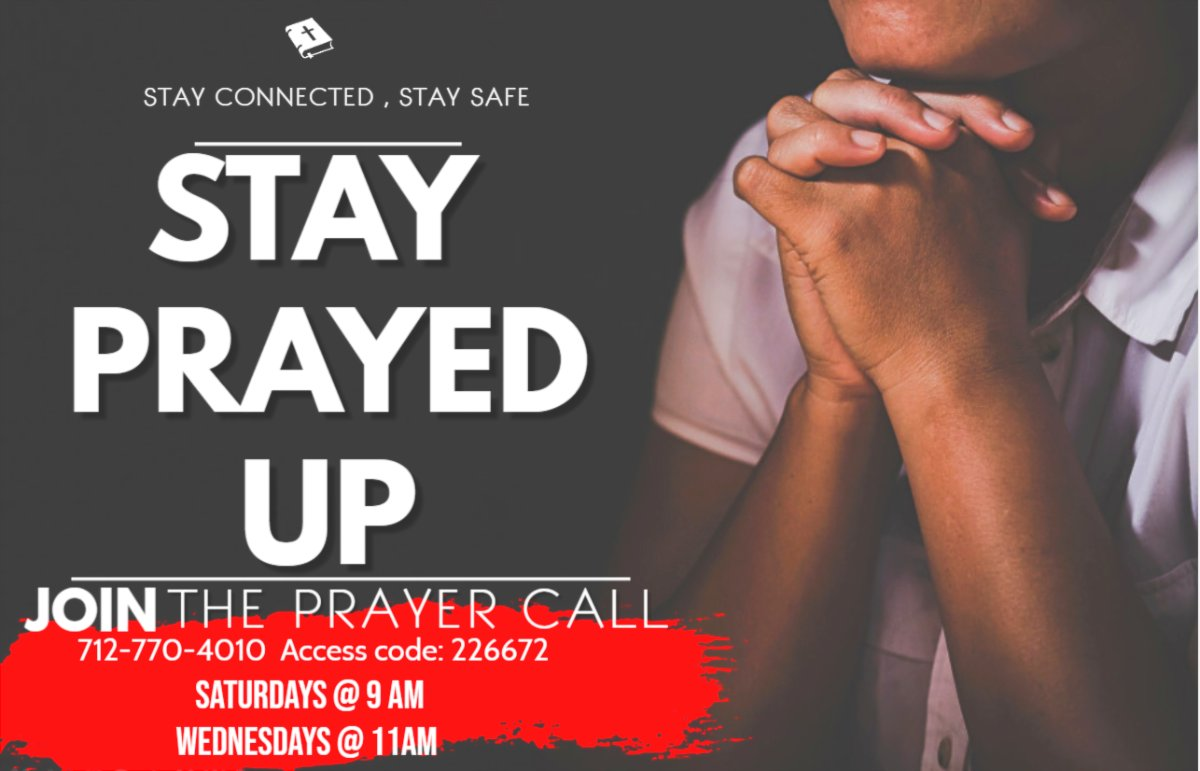 Join Pastor Richelle and Dr. G TOMORROW on Our Prayer Call as We Pray to the Father together!! 🙏Saturdays at 9am 🙏Wednesdays at 11am • • Send in your prayer requests to this email: prayerrequest@jesuspeoplemiami.com • • #Prayer #GodandUstime #God1st #MissionMinded2021 https://t.co/qZ0WWGBiwa