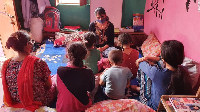 Indias Covid orphans are a tragic legacy of the pandemic Photo